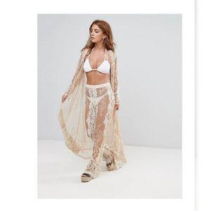 Premium Lace Beach Pant